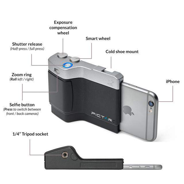 Miggo Pictar One Plus MKII White per iPhone, iPhone Plus e X, smartphone top Android